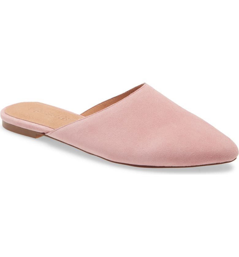 MADEWELL Remi Mule, Main, color, WEATHER BERRY SUEDE
