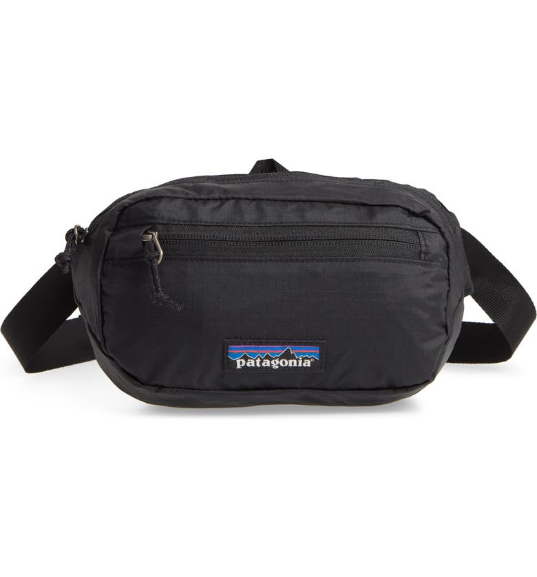 PATAGONIA Black Hole<sup>™</sup> Ultralight Mini Belt Bag, Main, color, 001