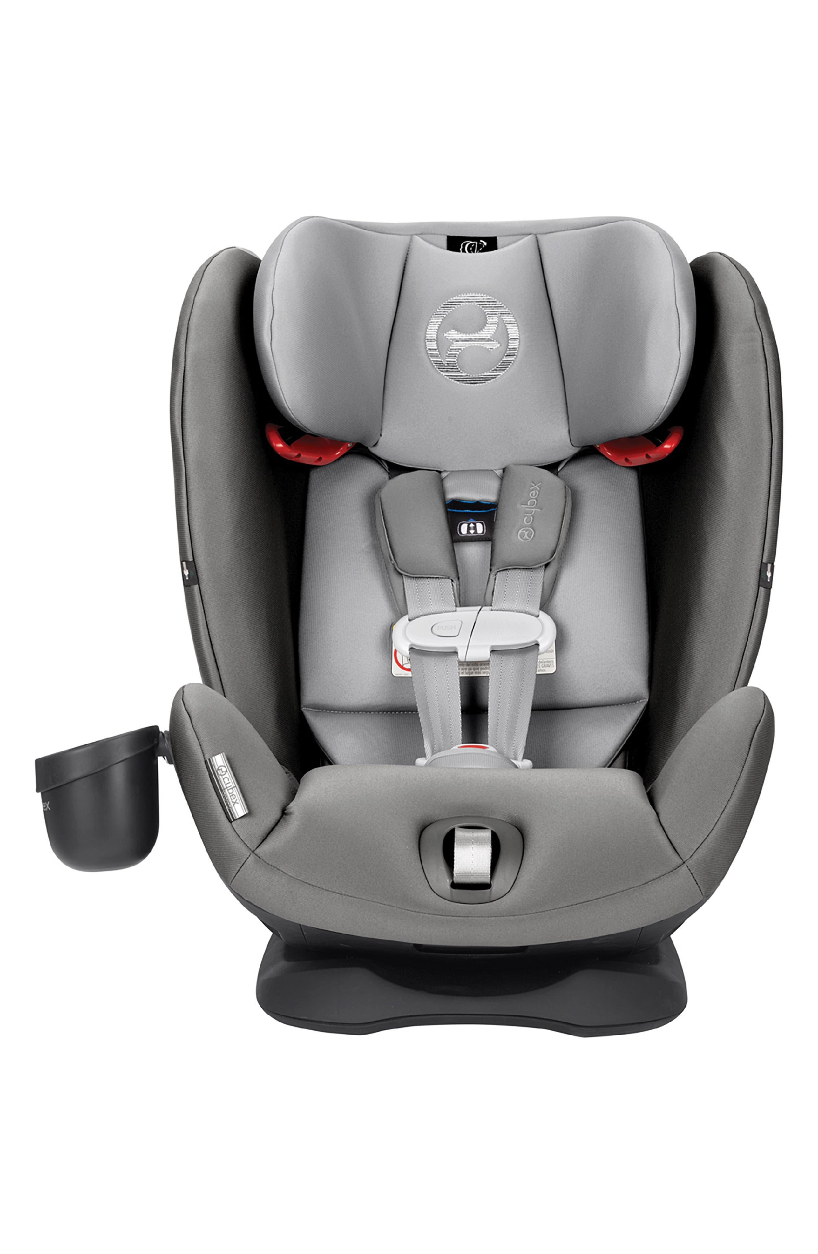 ,                             Eternis S SensorSafe<sup>™</sup> All-in-One Car Seat,                             Alternate thumbnail 12, color,                             BLACK/ GREY