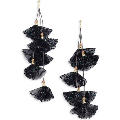 Stella + Ruby Melody Tulle Petal Earrings