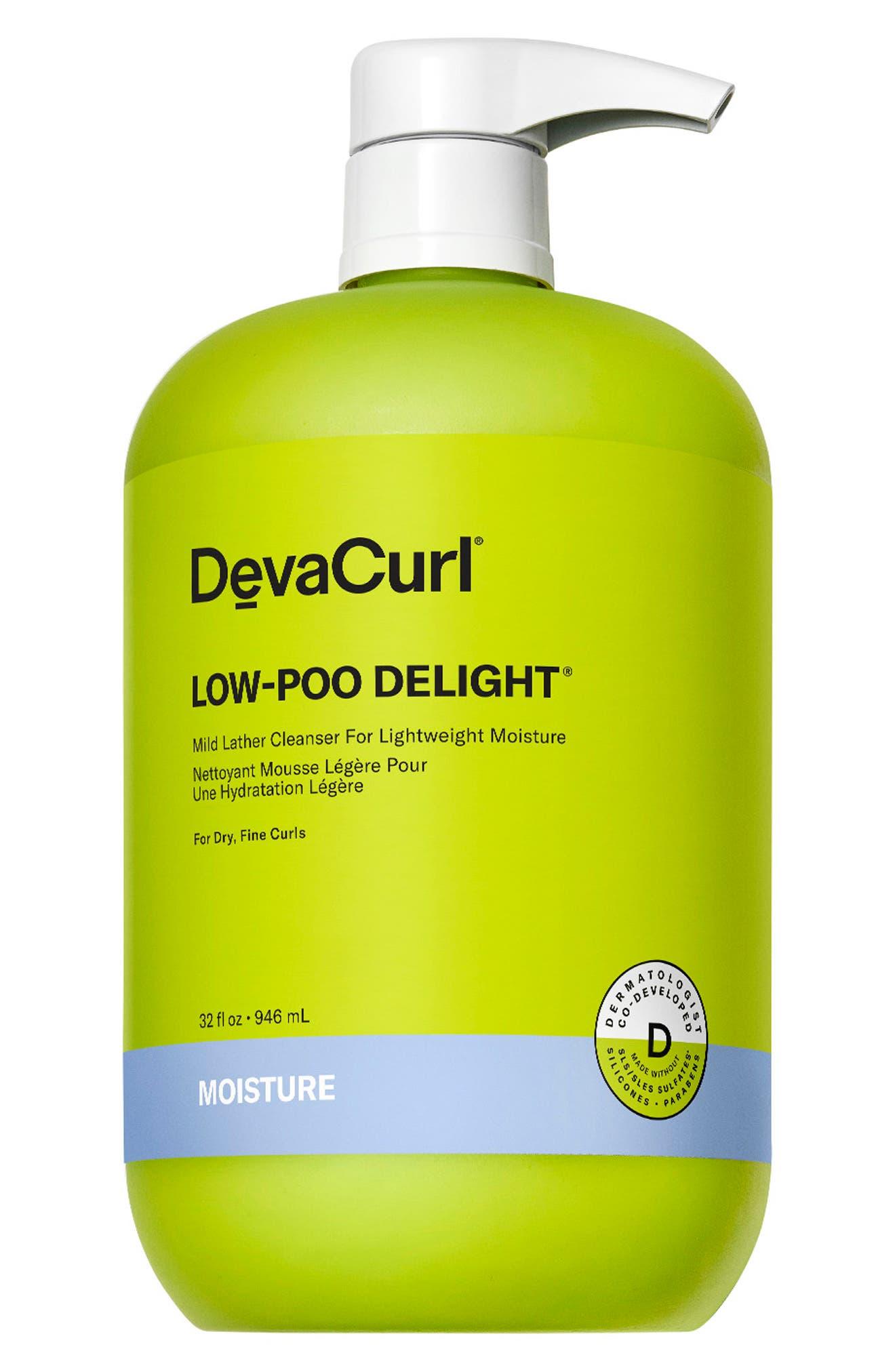 DevaCurl Jumbo Low-Poo Delight(R) Mild Lather Cleanser