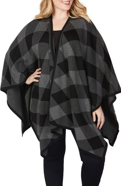 Foxcroft THE WALKER PLAID WRAP