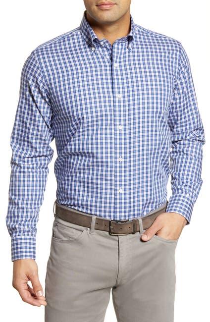Image of Peter Millar Tides Tattersall Check Regular Fit Shirt