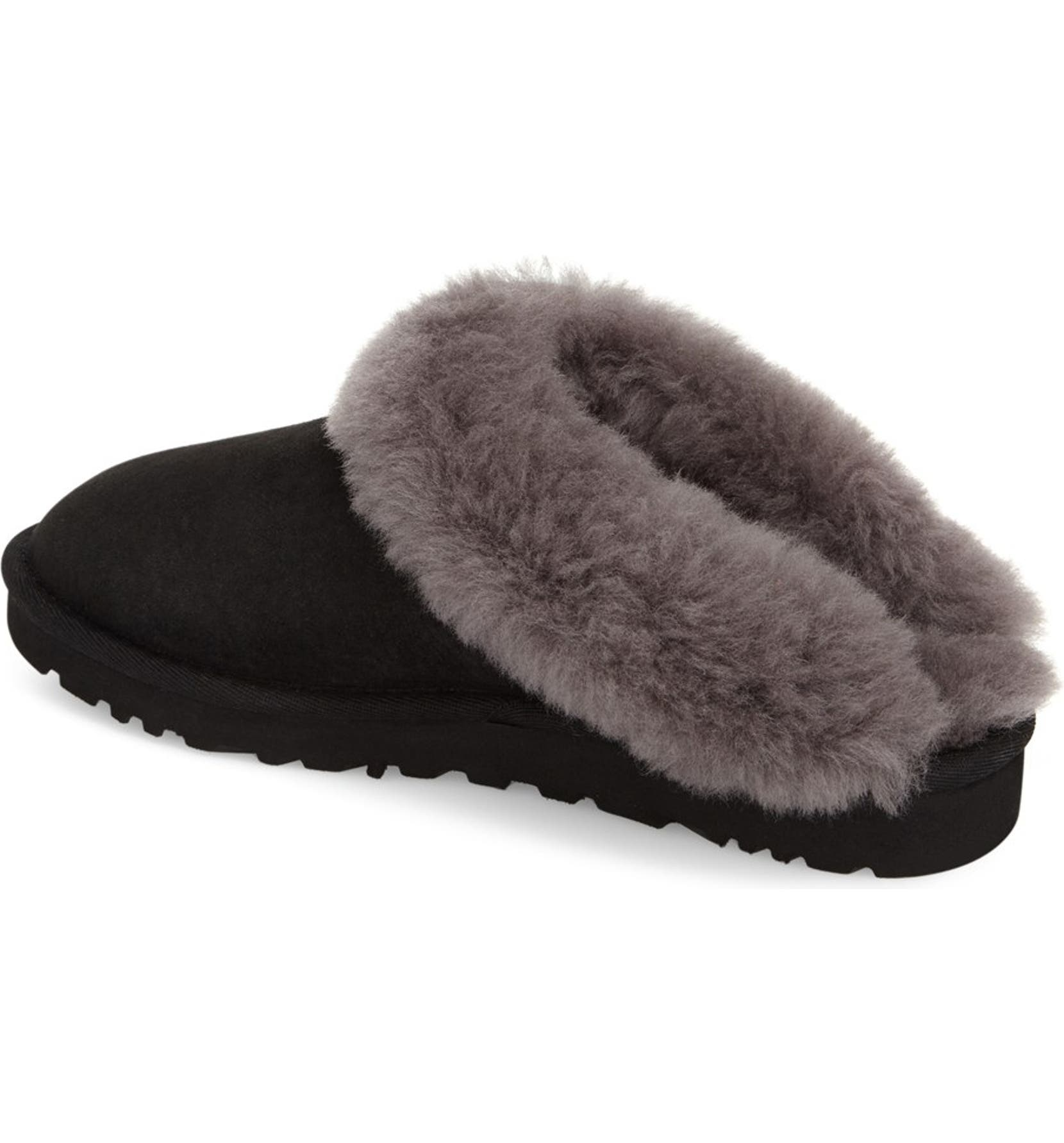 9b38ef55c680f UGG® 'Cluggette' Genuine Shearling Indoor/Outdoor Slipper (Women) |  Nordstrom