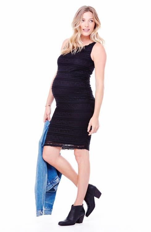 15e4d9b487744 Ingrid & Isabel Sleeveless Stretch Lace Maternity Dress | Nordstrom