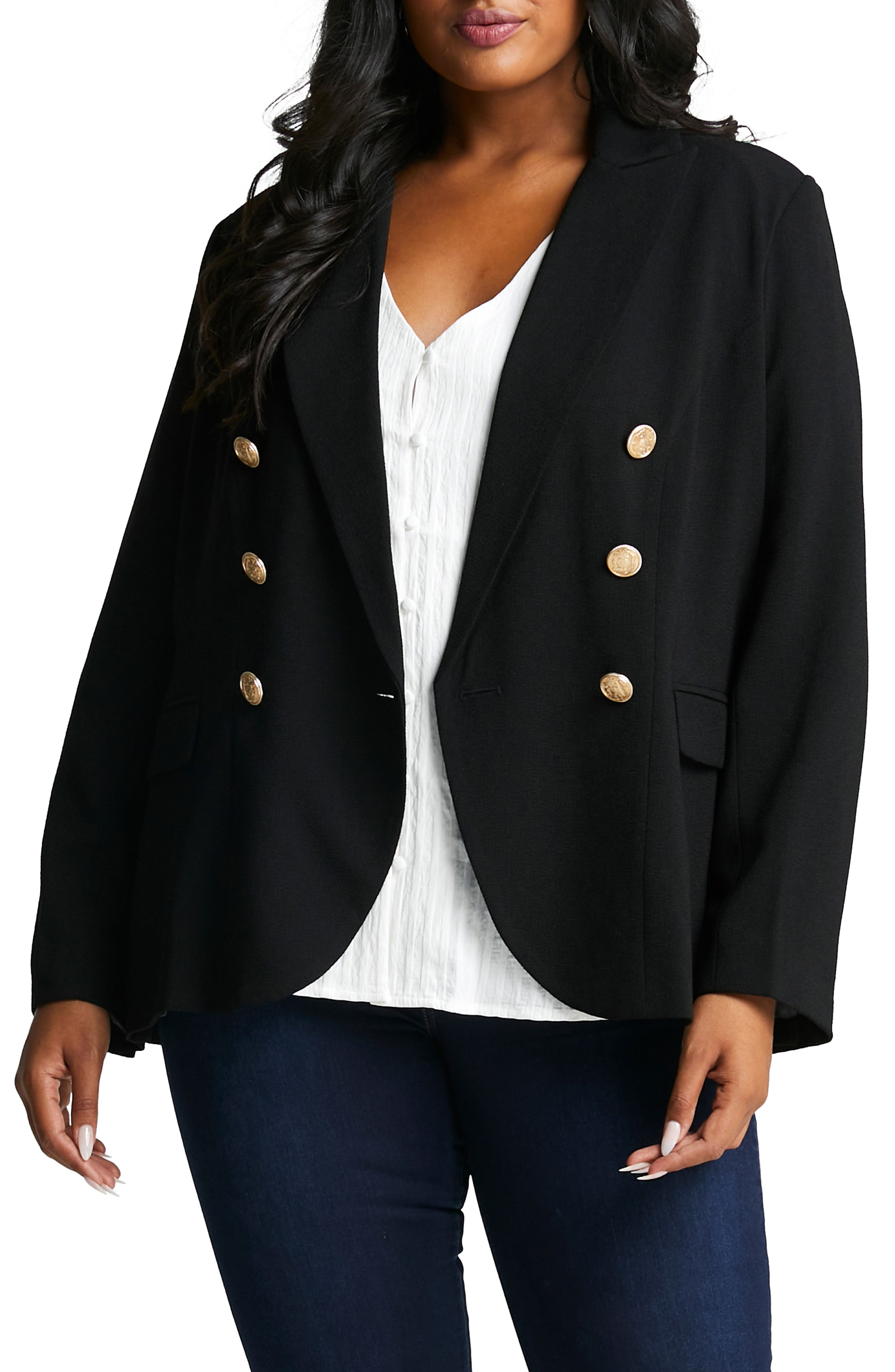 Clever Double Breasted Jacket