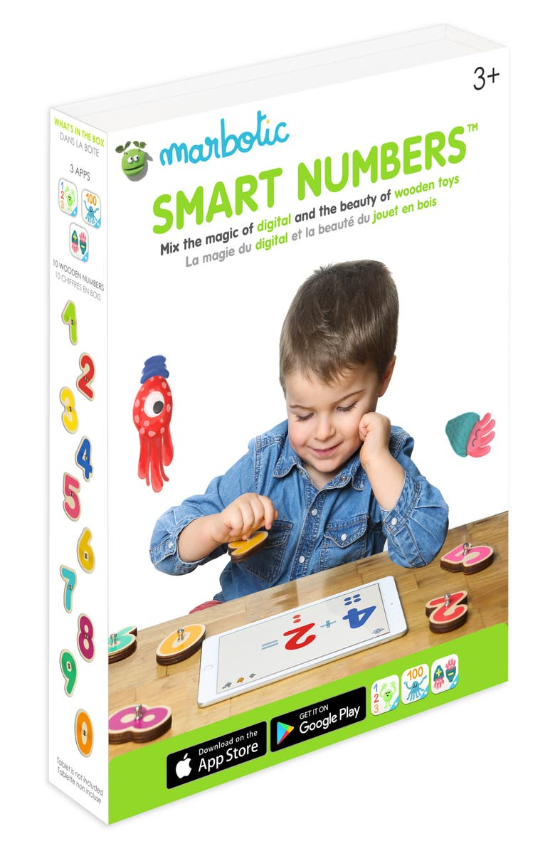 MARBOTIC Smart Numbers Interactive Math Toy, Main, color, MULTI