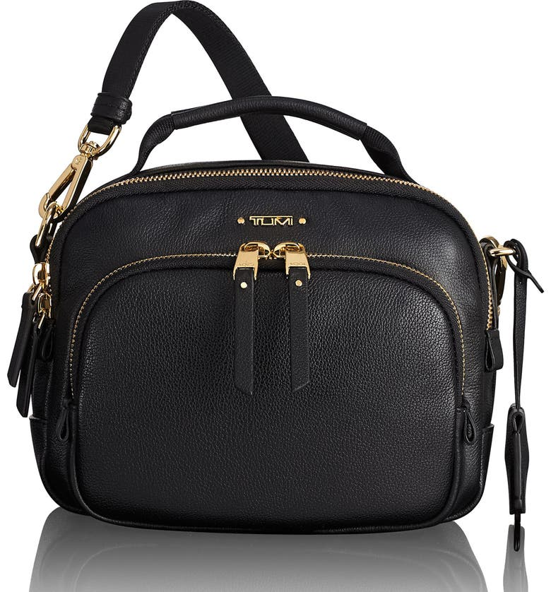 Voyageur Troy Leather Crossbody Bag by Tumi