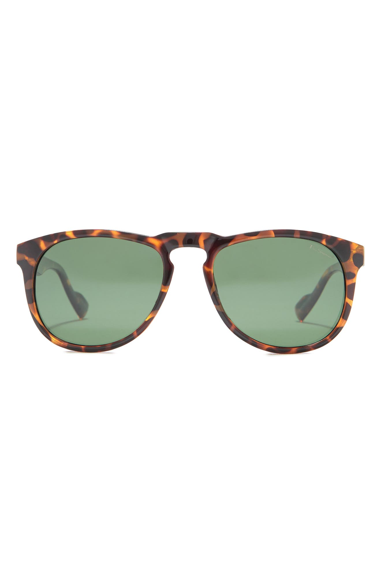 Image of Ben Sherman Charles 55mm Round Sunglasses