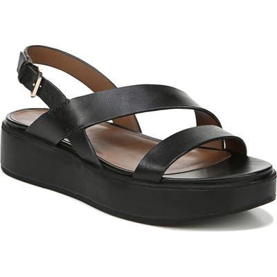 Naturalizer Charlize Platform Sandal- Black