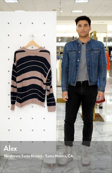 Move On Up Stripe Sweater, sales video thumbnail