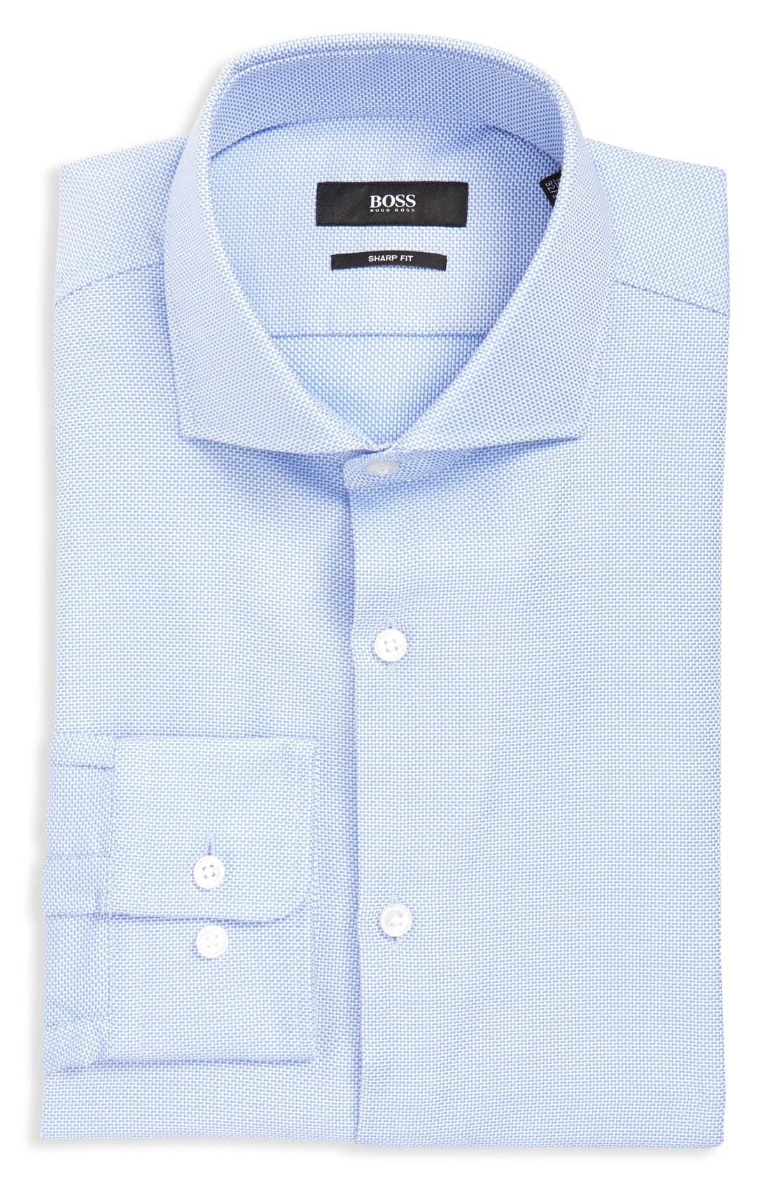 sharp fit dress shirt1418460 Hugo Boss Tuxedo Shirt Nordstrom #13