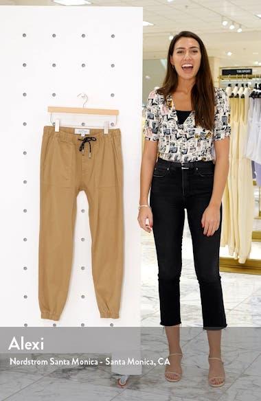 Skinny Fit Woven Jogger Pants, sales video thumbnail