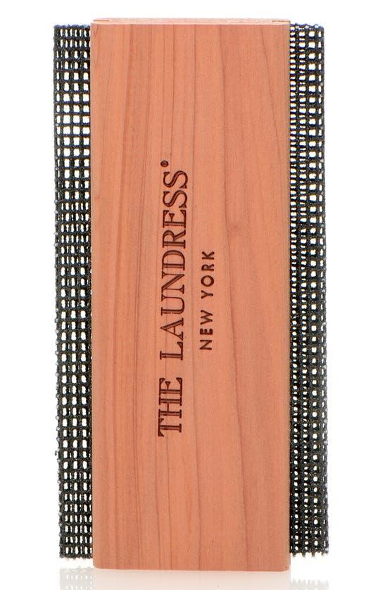The Laundress Metal Mesh Sweater Comb In Cedar