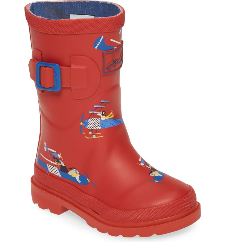 Joules Welly Waterproof Rain Boot Toddler Little Kid Big Kid