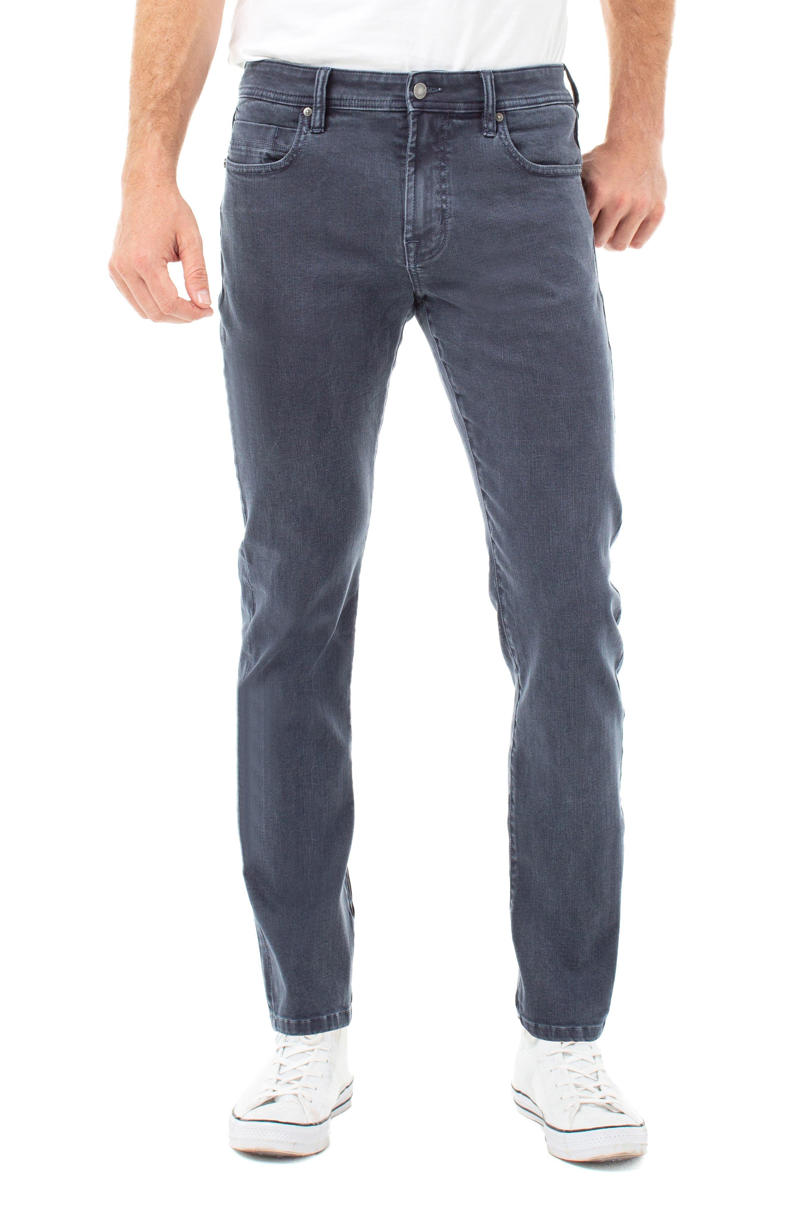 Los Angeles Kingston Modern Slim Straight Leg Jeans