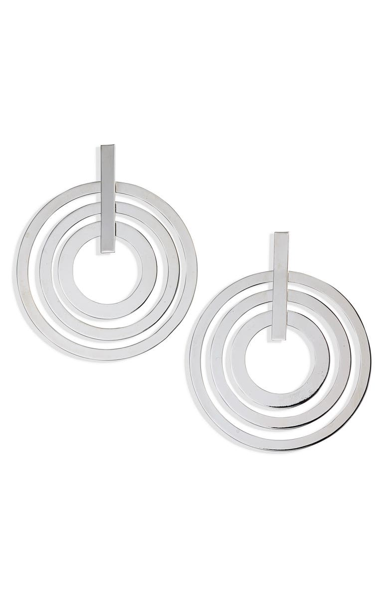 HALOGEN<SUP>®</SUP> Triple Circle Drop Earrings, Main, color, 040