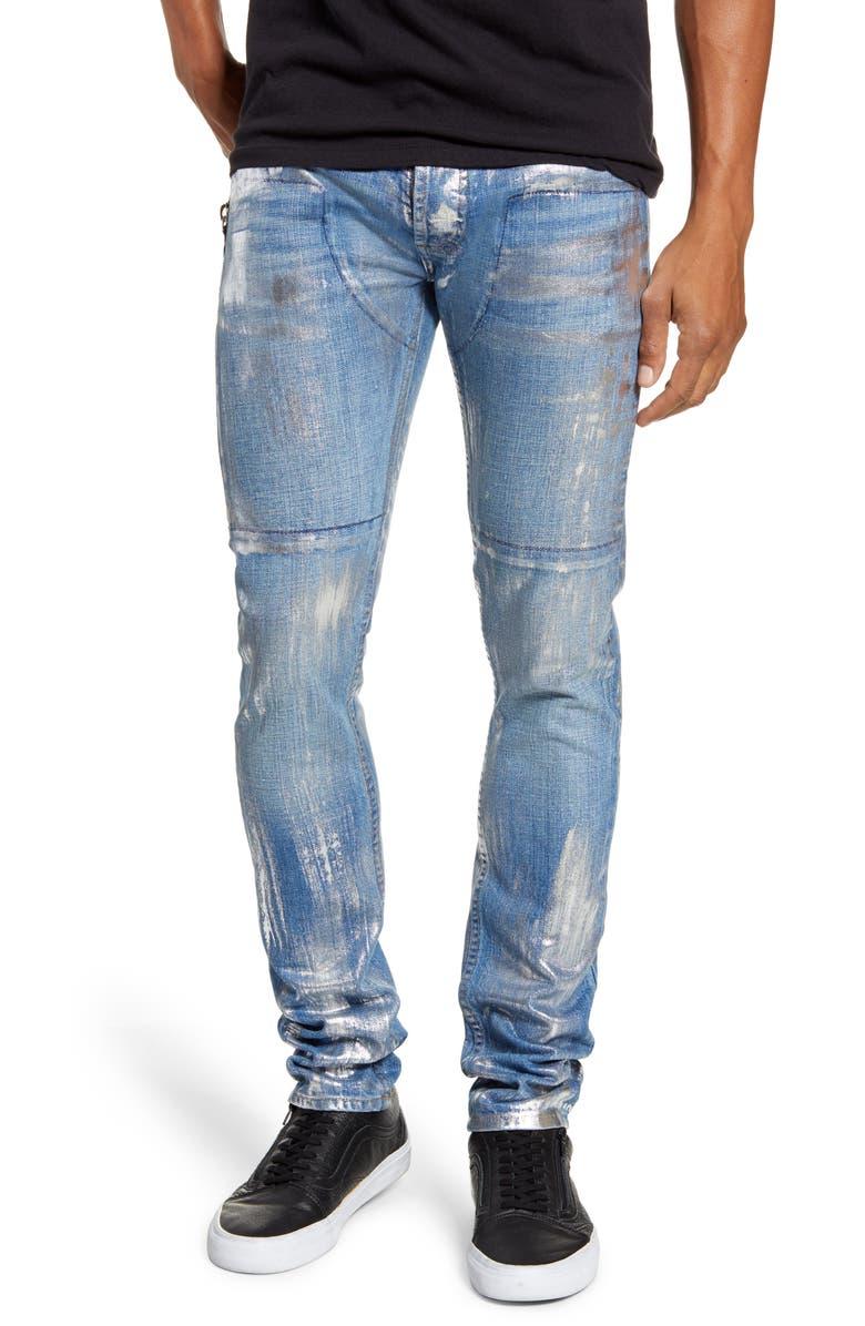 MRCLA Trafford Slim Straight Leg Jeans, Main, color, 420