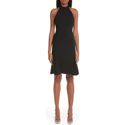 Stella Mccartney Stretch Cady Halter Dress, US / 44 IT - Black