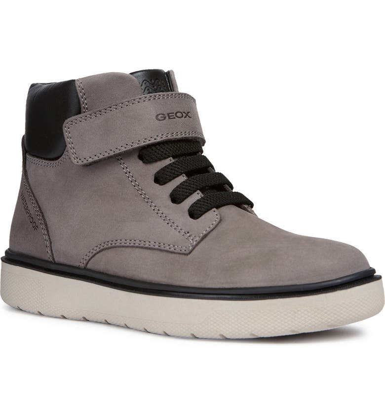 GEOX Riddock Boot, Main, color, DARK GREY