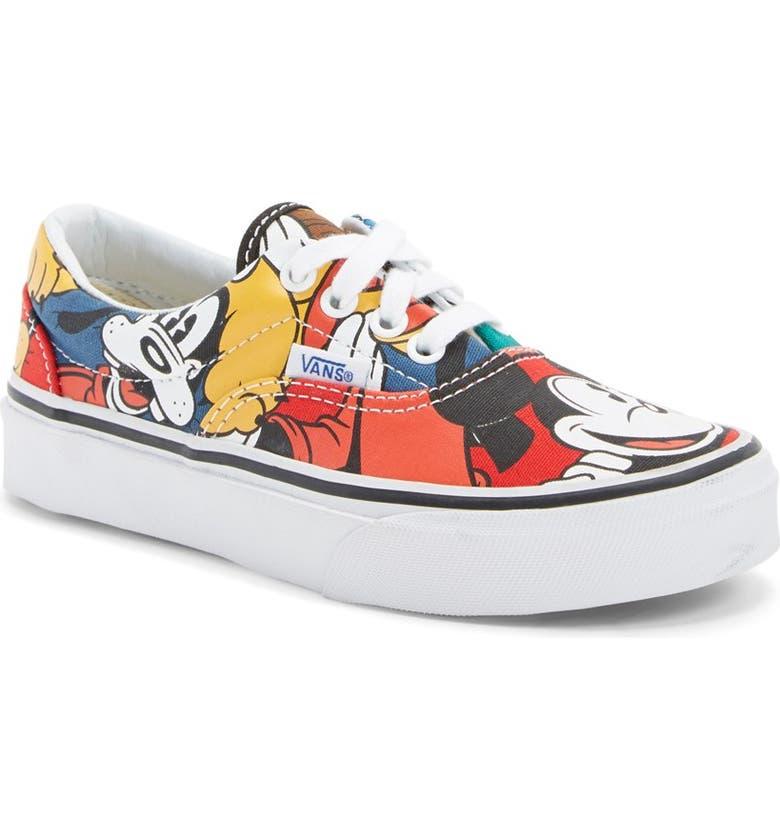 VANS 'Era - Disney<sup>®</sup> Mickey & Friends' Sneaker, Main, color, 001
