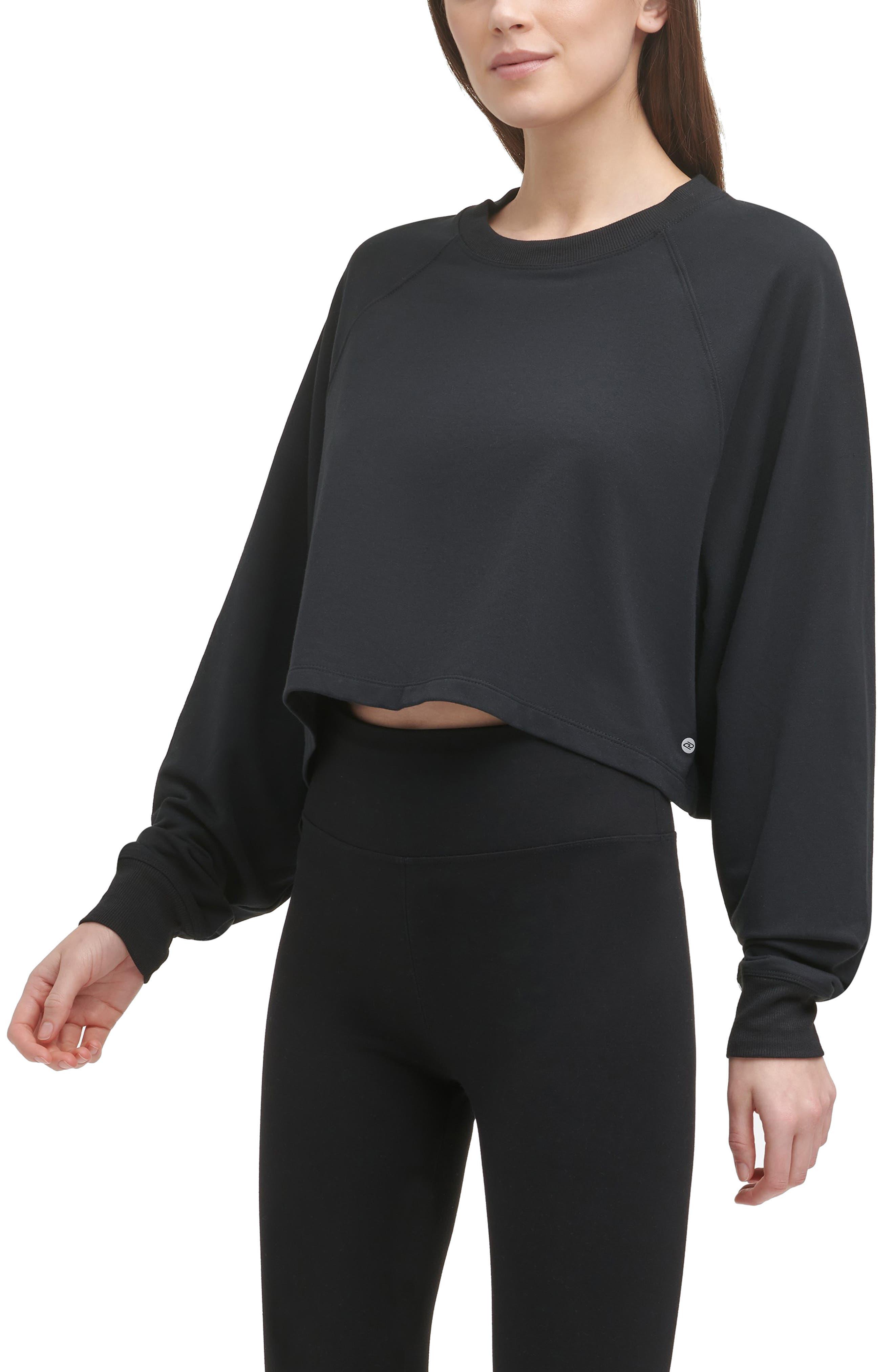 Yoga Boxy Crop Pullover