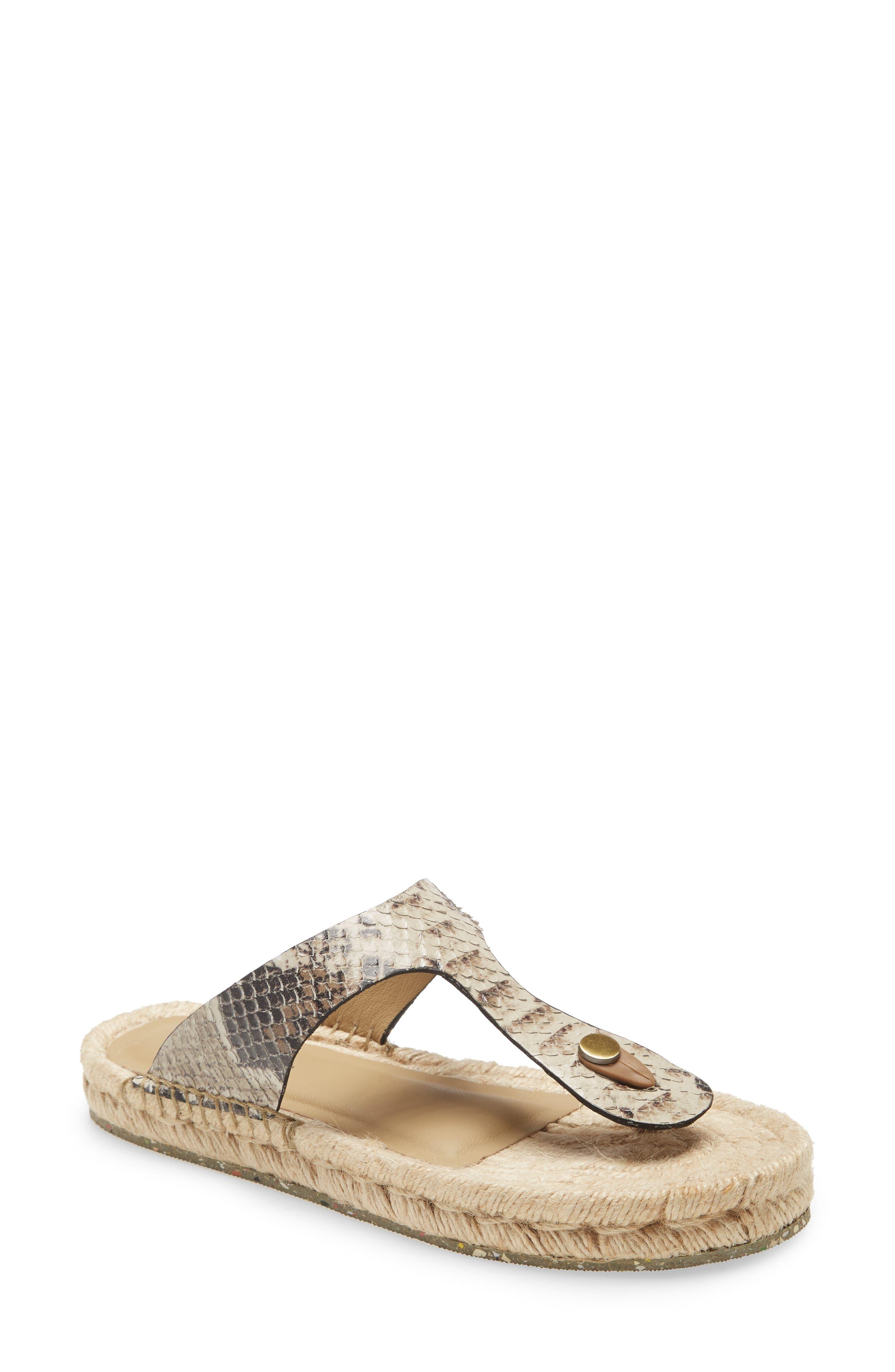Bernat Leather & Jute Flip Flop