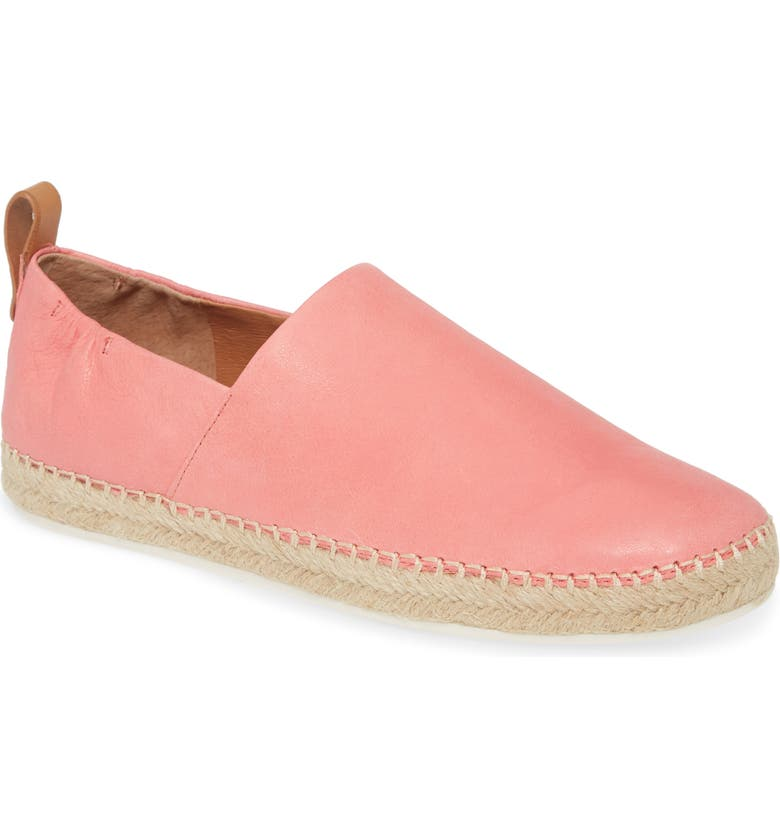 GENTLE SOULS BY KENNETH COLE Lizzy Espadrille Flat, Main, color, BRIGHT PINK LEATHER