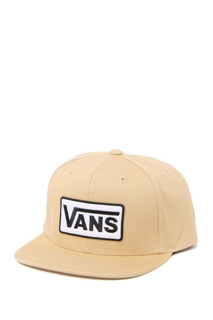 Image of VANS Logo Patch Snapback Cap