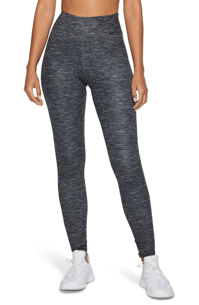 NIKE One Luxe Dri-FIT Training Tights, Main, color, 010