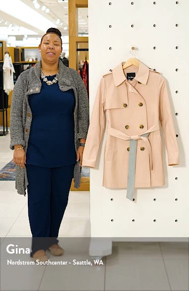 Short Trench Coat, sales video thumbnail