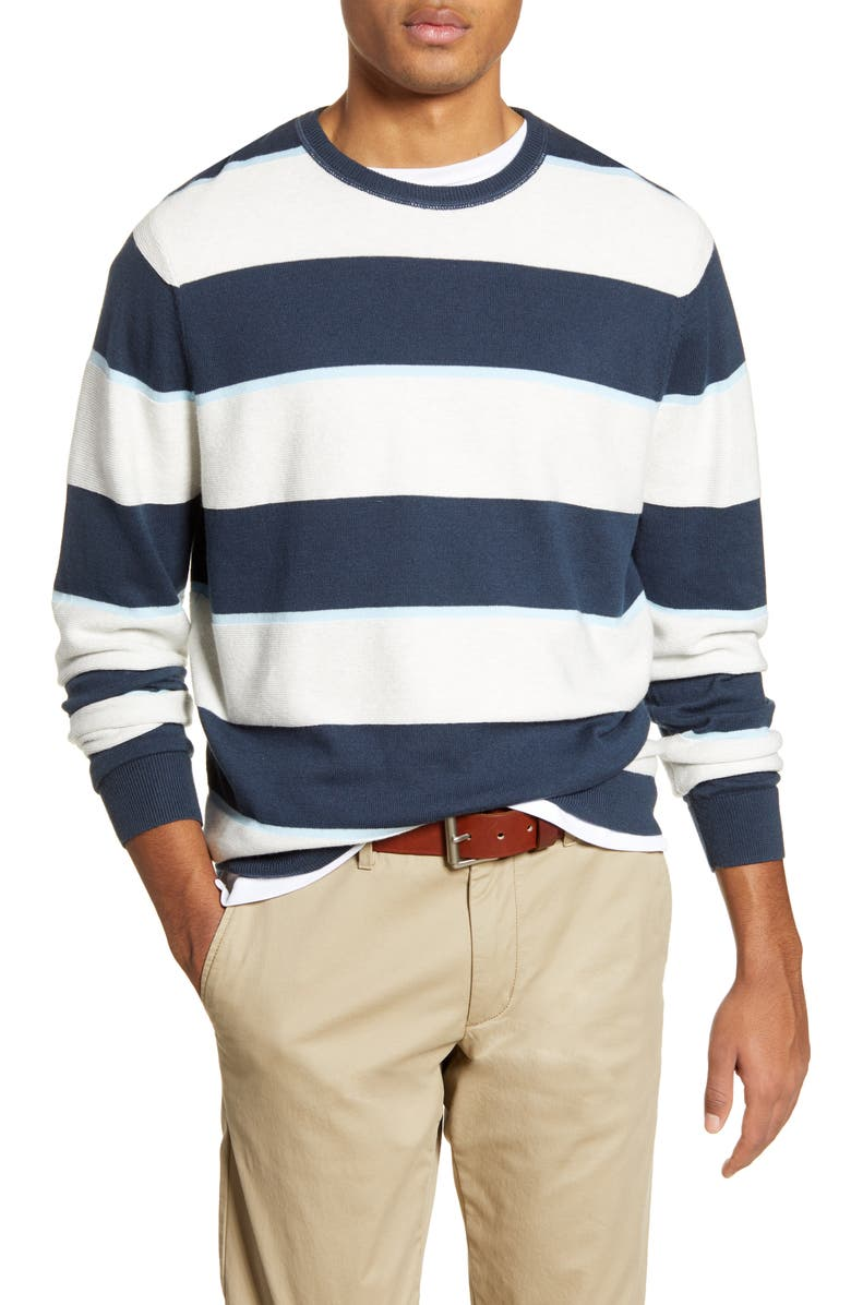 1901 Stripe Sweater, Main, color, 100