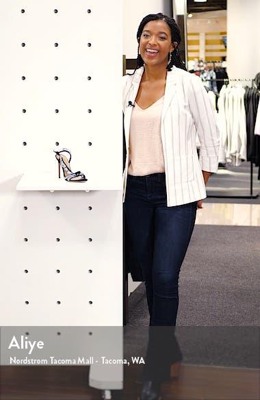 Crystal Ruffle Slingback Sandal, sales video thumbnail