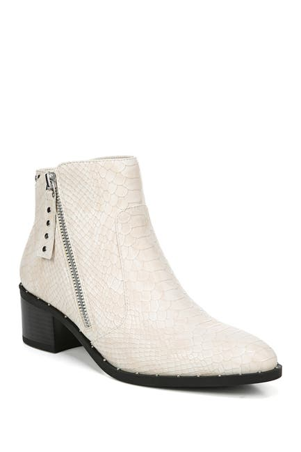 Image of Fergalicious Harding Studded Snake Embossed Ankle Boot
