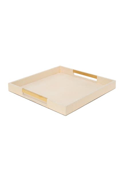 Image of Jay Import Tray with Gold Handles