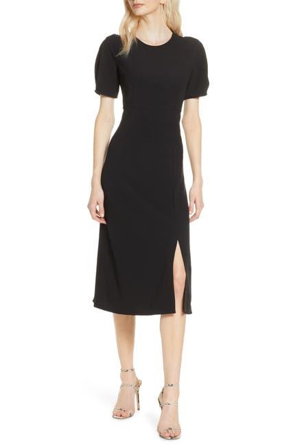 Image of Chelsea28 Pleat Sleeve Midi Dress