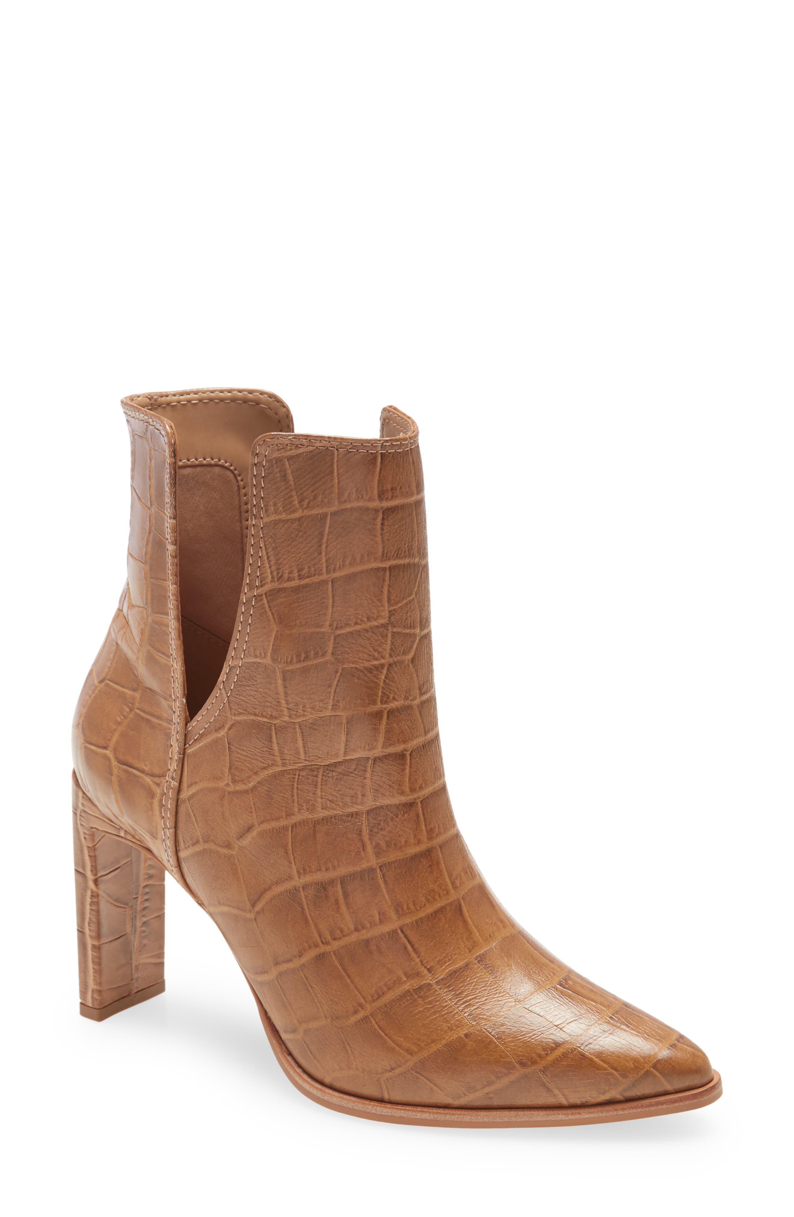 Knoxville Croc Embossed Bootie