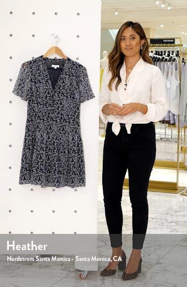 Lisle Ditsy Print Silk Dress, sales video thumbnail