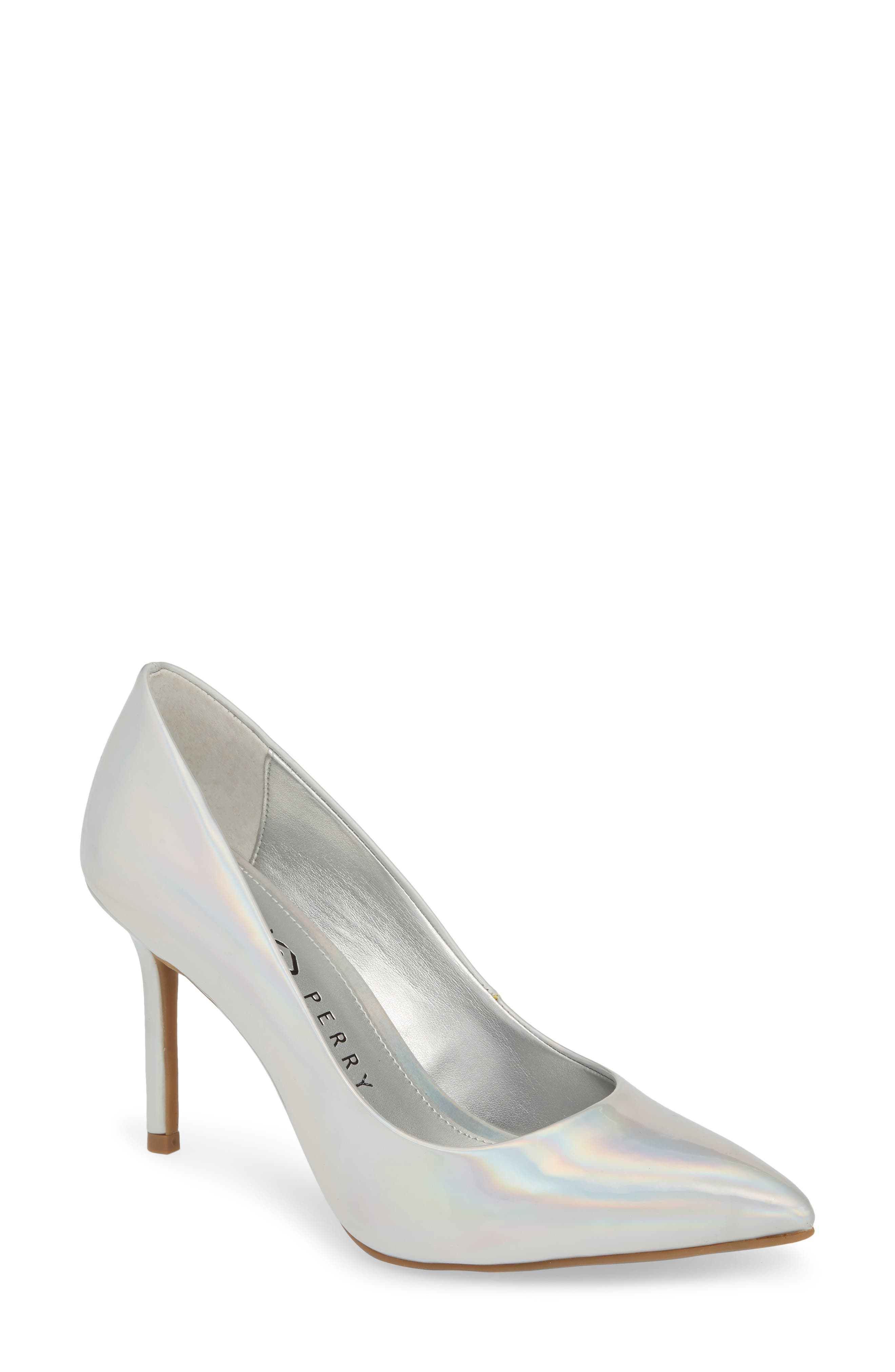 women's katy perry the sissy pump, size 5.5 m - beige