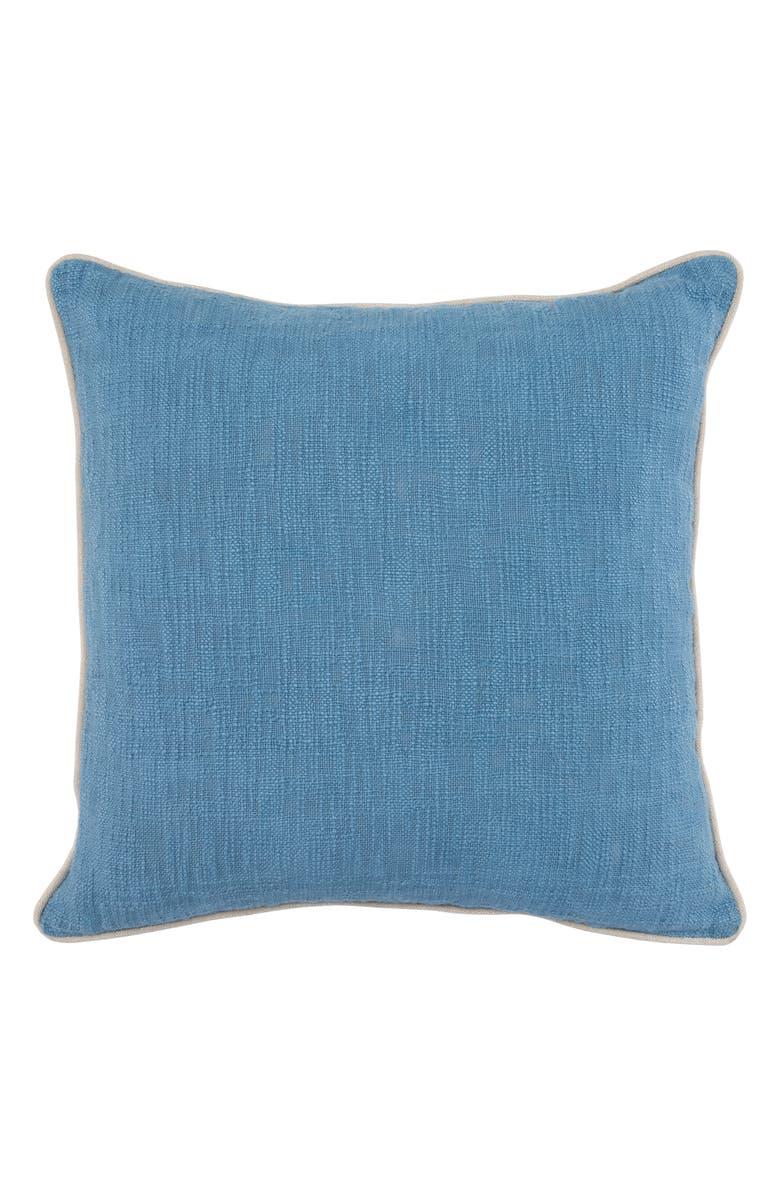 VILLA HOME COLLECTION Alba Accent Pillow, Main, color, BLUE