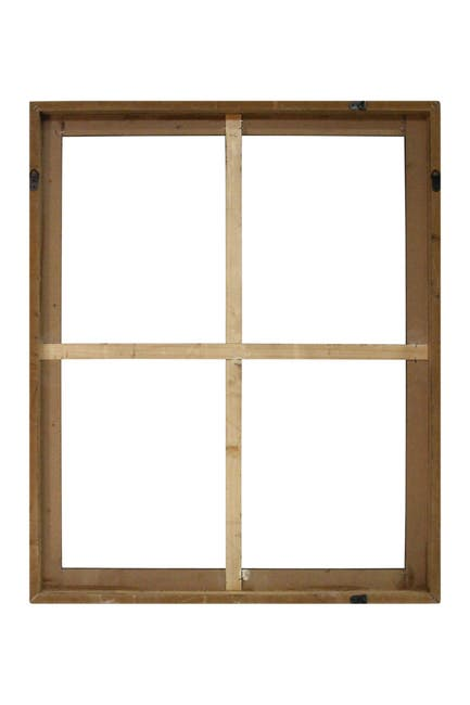 Image of Stratton Home Wood Windowpane Wall Decor