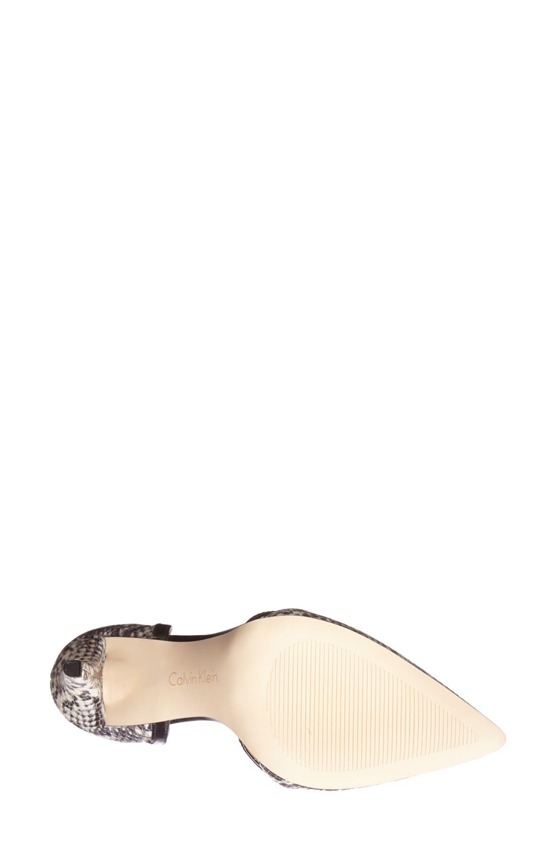 ,                             'Gilia' Cutout Leather d'Orsay Pump,                             Alternate thumbnail 8, color,                             019