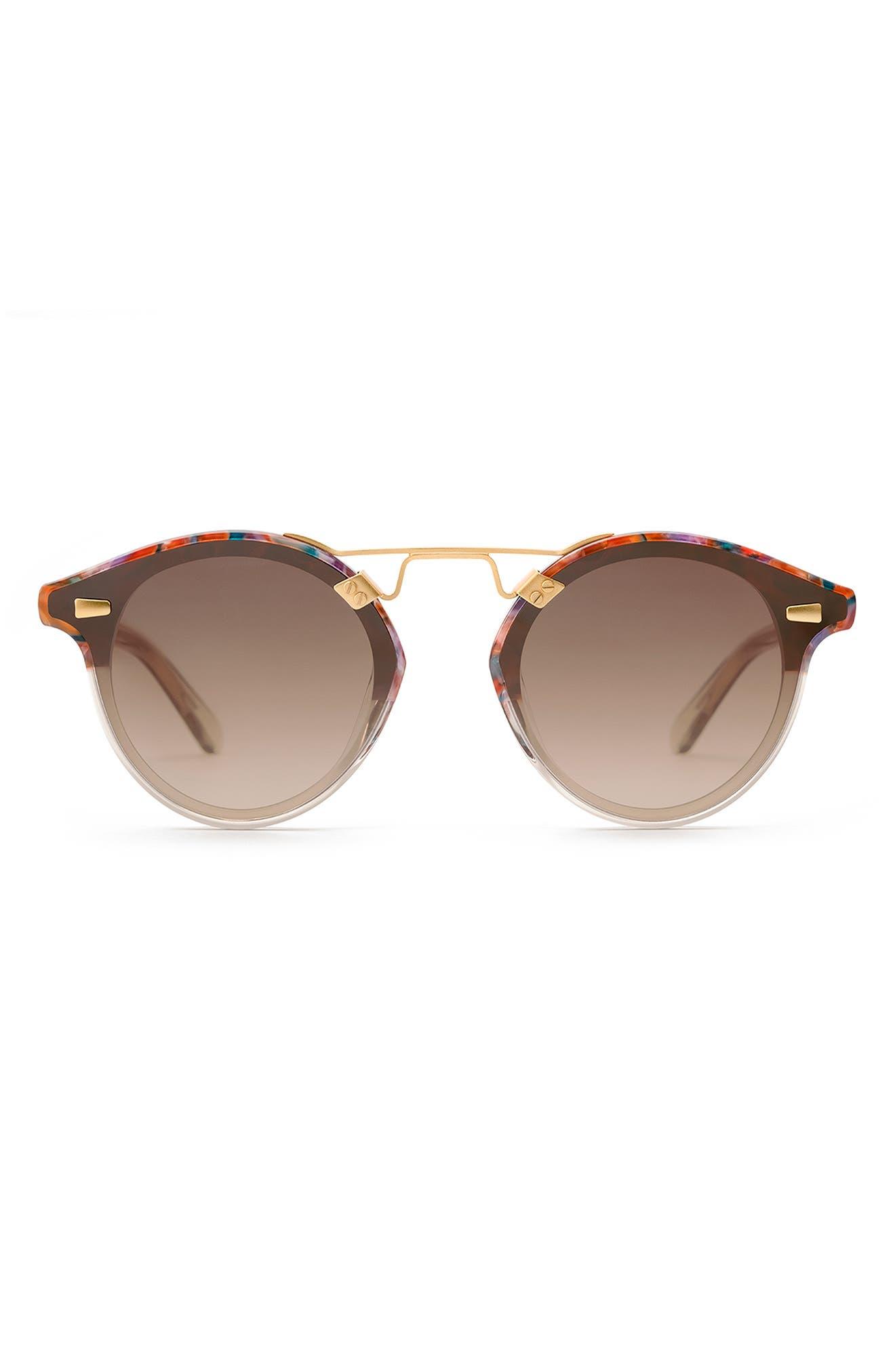Stl 63mm Round Sunglasses