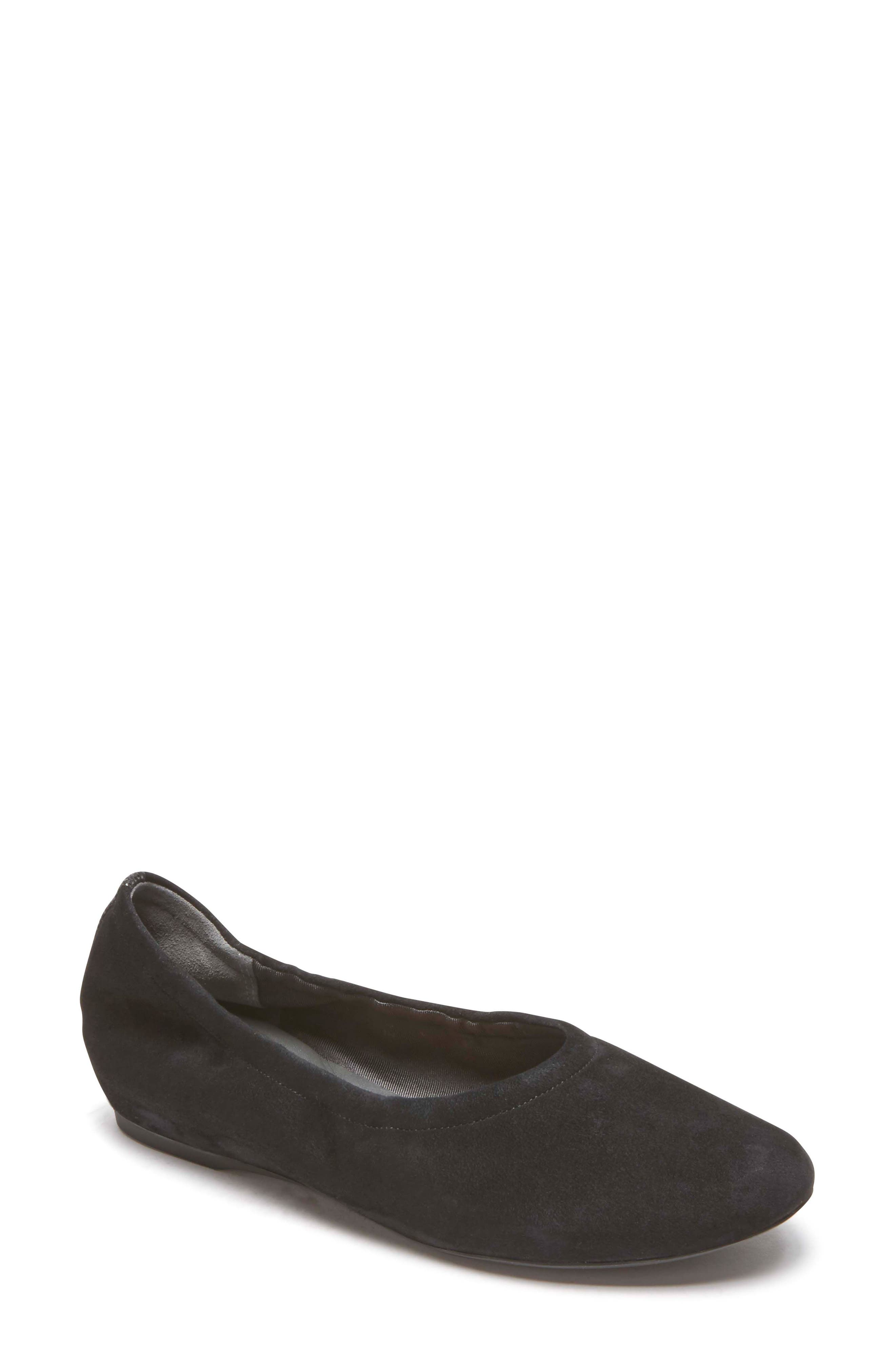 Rockport Total Motion Luxe Ruched Slip-On, Black
