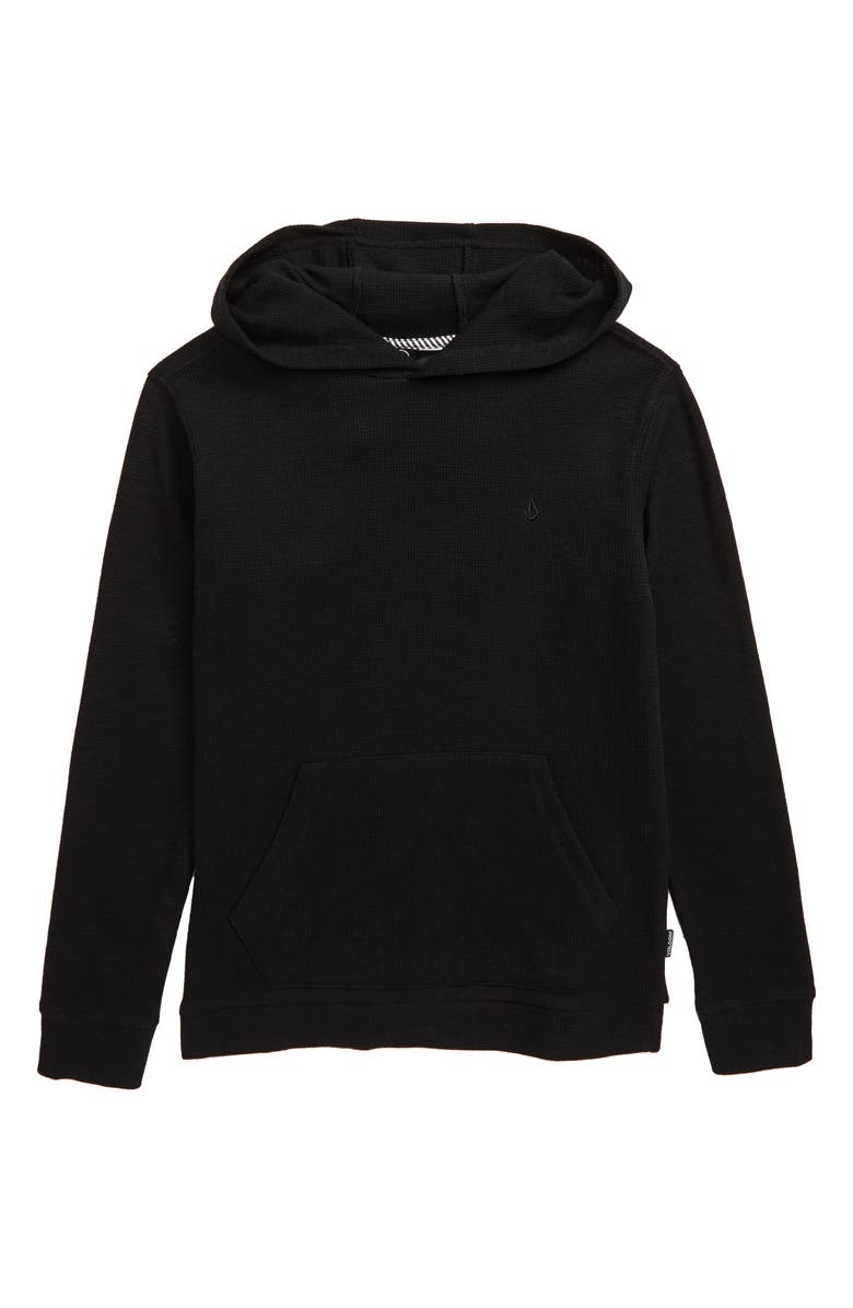 VOLCOM Wallace Thermal Hoodie, Main, color, 001