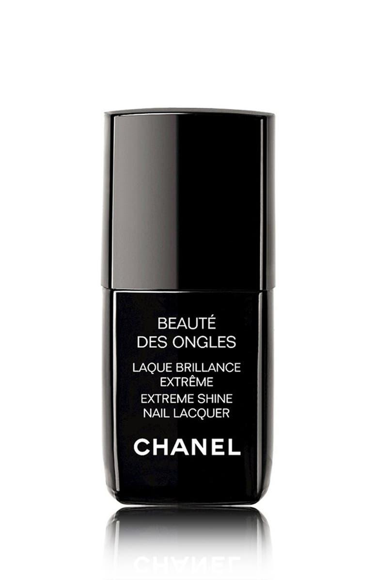 CHANEL LAQUE BRILLANCE EXTRÊME <br />Extreme Shine Nail Lacquer, Main, color, 000
