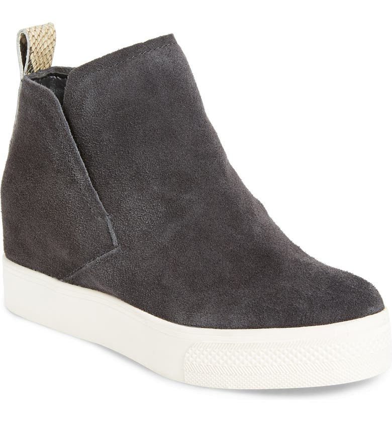 DOLCE VITA Walker Wedge Sneaker Boot, Main, color, ANTHRACITE