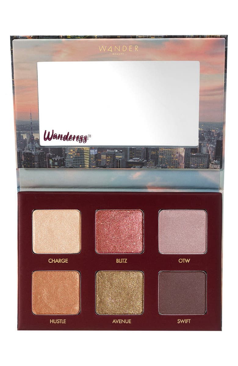 WANDER BEAUTY Wanderess Rush Eyeshadow Palette, Main, color, NO COLOR