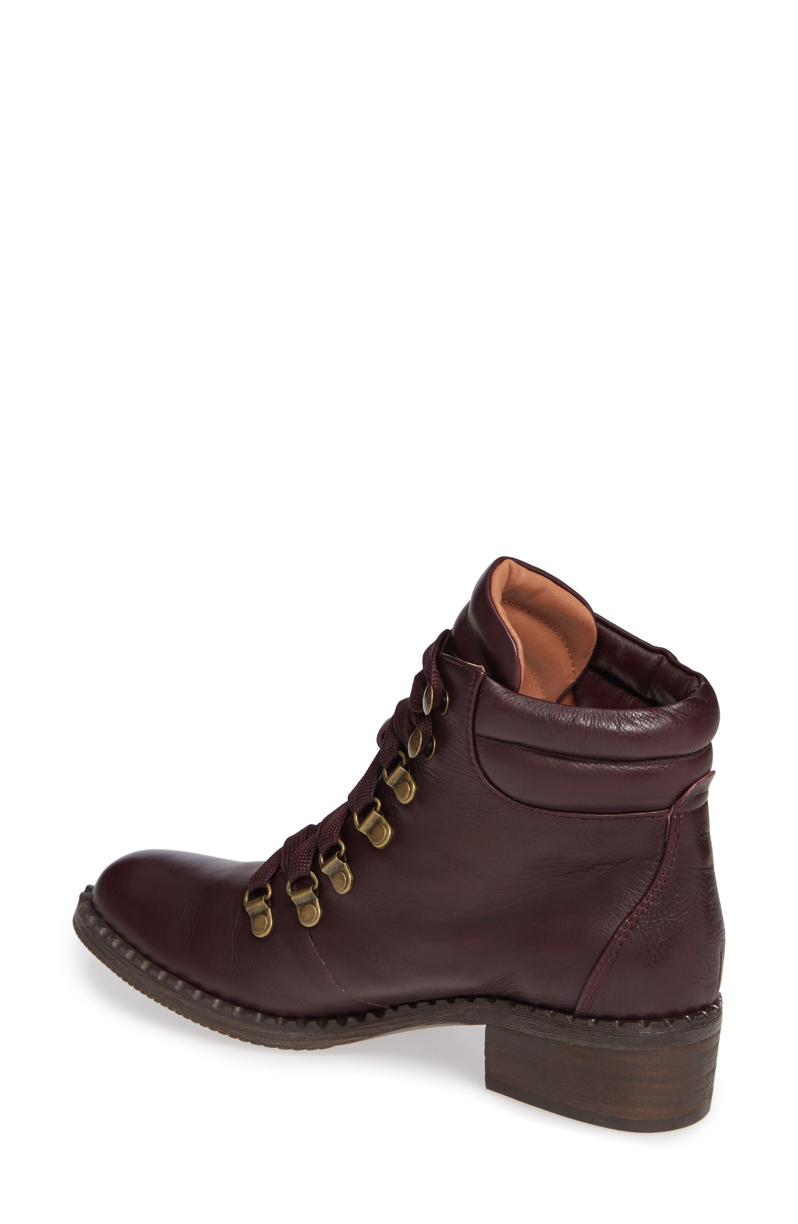 ,                             Brooklyn Combat Boot,                             Alternate thumbnail 2, color,                             OXBLOOD LEATHER