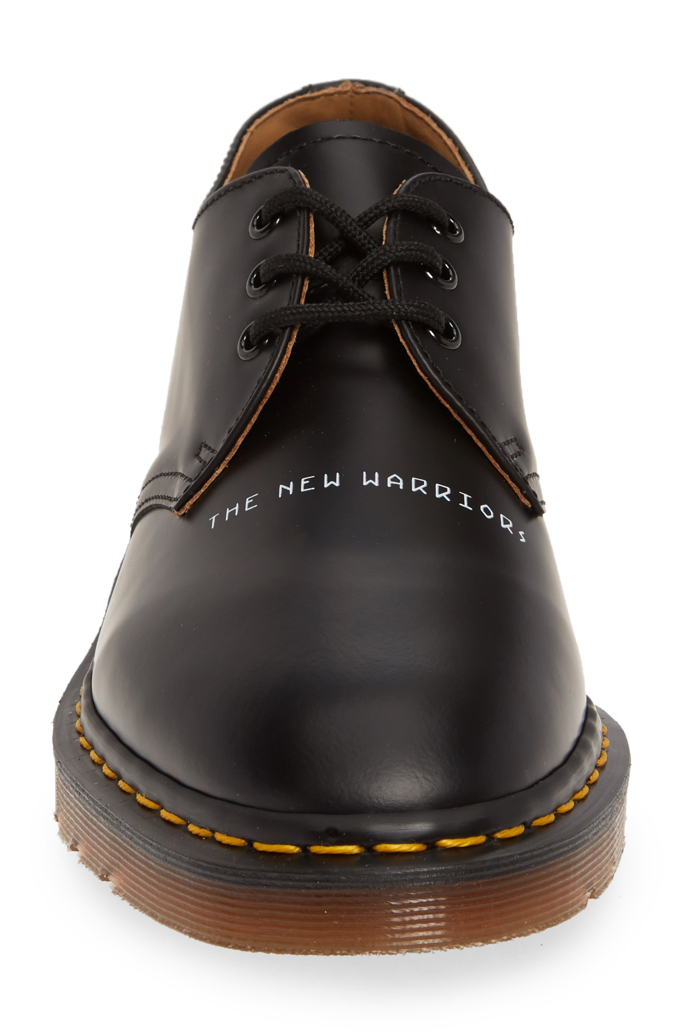 ,                             x UNDERCOVER 1461 Derby,                             Alternate thumbnail 4, color,                             BLACK LEATHER